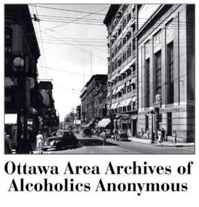 Historical photo downtown Ottawa