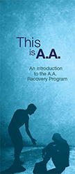 P-1 This is A.A. - An introduction to the A.A. Recovery Program