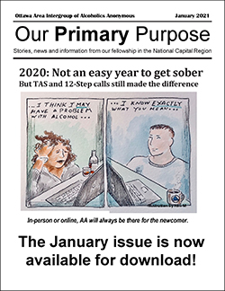Our Primary Purpose January 2021